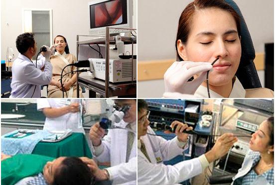 علاج أمراض الأنف والأذن والحنجرة في الهند